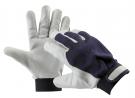 Pracovní rukavice PELICAN BLUE, jemná lícová kozinka