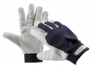 Zateplené rukavice PELICAN BLUE, jemná kozinka