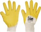 Pracovní rukavice Twite, latex na dlani a prstech