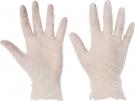 Pracovní rukavice vinylové pudrované Rail