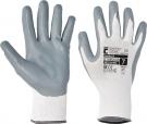 Pracovní rukavice Babbler, nitril na dlani a prstech