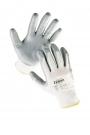 Pracovní rukavice Babbler Light, nitril na dlani a prstech