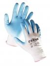 Povrstvené pracovní rukavice VIREO, nylon s nitrilem