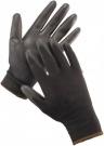Pracovní rukavice Bunting BLACK ECO, polyuretan na dlani a prstech