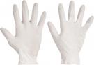 Pracovní rukavice  Loon, latexové pudrované