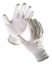 Pletené bezešvé antistatické rukavice FLICKER
