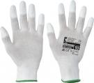 Pracovní rukavice Lark, polyuretan na špičkách prstů