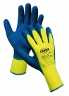 Pracovní rukavice Bluetail, latex na dlani a prstech