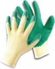 Pracovní rukavice Dipper ECO, latex na dlani a prstech