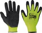 Pracovní rukavice PALAWAN, latex na dlani a prstech