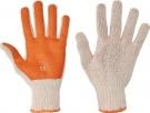 Pracovní rukavice Scoter, PVC na dlani a prstech