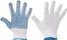 Pracovní rukavice Plover, PVC terčíky na dlani a prstech
