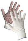 Pletené bezešvé nylonové rukavice GANNET