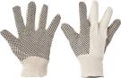 Pracovní rukavice Osprey, PVC terčíka na dlani a prstech