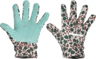 Pracovní rukavice Avocet, PVC terčíky na dlani a prstech