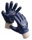 Pracovní rukavice Roller, celomáčené v nitrilu