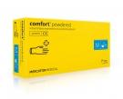 Jednorázové latexové vyšetřovací rukavice nepudrované- MERCATOR MEDICAL COMFORT