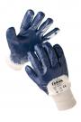 Pracovní rukavice Kittiwake, polomáčené v nitrilu