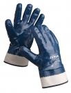 Celomáčené rukavice SWIFT, bavlna v nitrilu