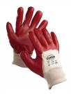 Pracovní rukavice Redpol, polomáčené v PVC