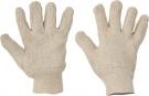 Textilní rukavice DUNLIN, silná froté bavlna