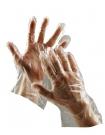 Jednorázové rukavice Duck, polyetylénová fólie
