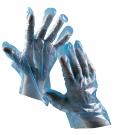Jednorázové rukavice Duck MODRÉ, polyetylénová fólie