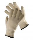 Teploodolné rukavice OVENBIRD, do 350 °C kontaktní teplo, délka 27 cm