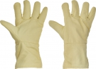 Teploodolné rukavice SCAUP, 250 °C kontaktní teplo