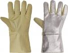 Teploodolné rukavice SCAUP AL, 250 °C kontaktní teplo