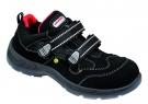 Bezpečnostní sandál S1 ELTEN SCOTT ESD, s plastovou ochrannou špicí