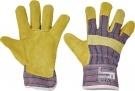 Pracovní rukavice Tern LUX, hovězí štípenka, vel. 10