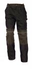 Montérkové kalhoty STANMORE hnědé, 100 % bavlna