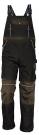 Montérkové kalhoty STANMORE hnědé laclové, 100 % bavlna