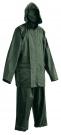 Nepromokavý oblek CARINA zelený, s přelepenými švy