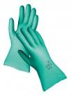 Pracovní rukavice Grebe z nitrilu, reliéfním povrchem na dlani a prstech