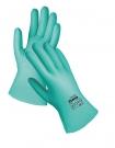 Pracovní rukavice Grebe SHORT z nitrilu, reliéfním povrchem na dlani a prstech