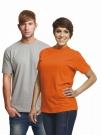 Bavlněné tričko TEESTA s krátkým rukávem, UNISEX -žlutá barva jen vel.M 1ks,vel.L 5 ks