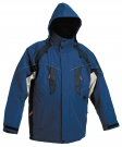 Zimní nepromokavá bunda NYALA modrá, s kapucí