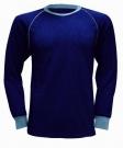 Funkční triko LION modré s dlouhým rukávem, vel.M-L  - 1 kus