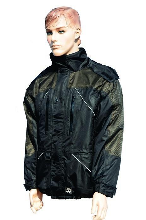 Komfortní bunda s reflex.pruhy ICEMAT
