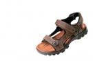 Kožený sandál WULIK hnědá Crazy Horse kůže
