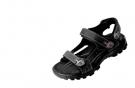 Kožený sandál WULIK černá Crazy Horse kůže