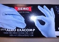 Jednorázové rukavice EXACOMP 1772 - nitril-vinyl - nepudrované, bal. 100ks
