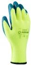 Pracovní rukavice Davis, latex na dlani a prstech