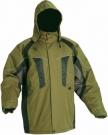 Zimní nepromokavá bunda NYALA zelená, s kapucí jen 1 ks vel. XXL