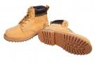 Zimní pracovní obuv HONEY kotníková písková