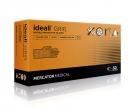 Jednorázové nitrilové rukavice MERCATOR- ideall ® GRIP+ (black) 2,5xSILNĚJŠÍ než GRIP- bal. 50ks