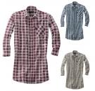 Prodloužená flanelová košile MONTANA -jen vel.41/42-3ks, vel.43/44-1 ks, vel.45/46-3ks