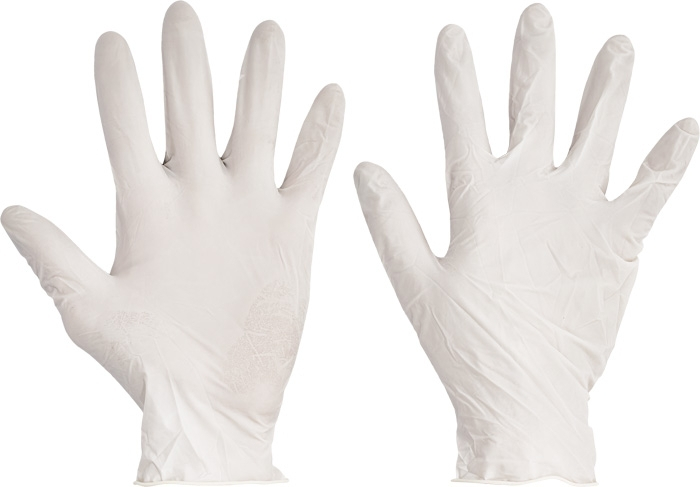 jednorázové rukavice latexové NEpudrované